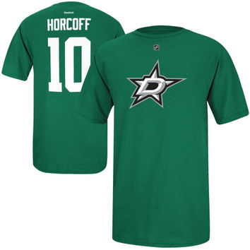 Shawn Horcoff Dallas Stars Reebok Name and Number Player T-Shirt – Green