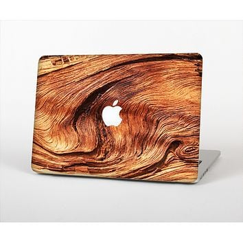 The Wavy Bright Wood Knot Skin Set for the Apple MacBook Air 13""