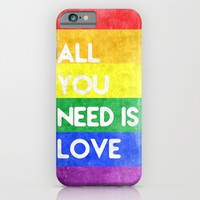 ALL YOU NEED IS LOVE iPhone & iPod Case by Ylenia Pizzetti