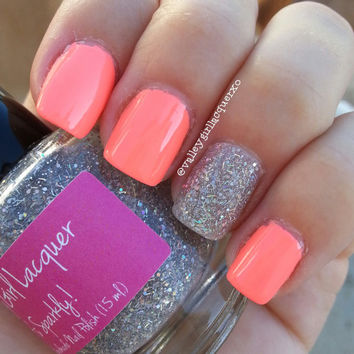 It's Sparkly  5 Free Luxury Handmade Nail by ValleyGirlLacquer