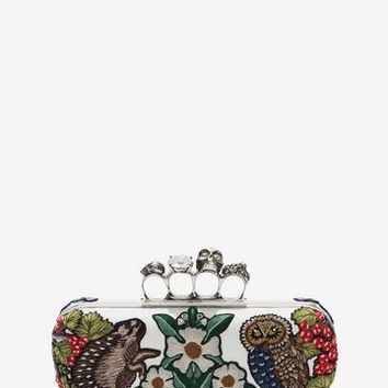 Medieval Four Ring Clutch | Alexander McQueen