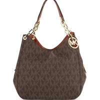 Fulton Large Tote Bag, Brown - MICHAEL Michael Kors