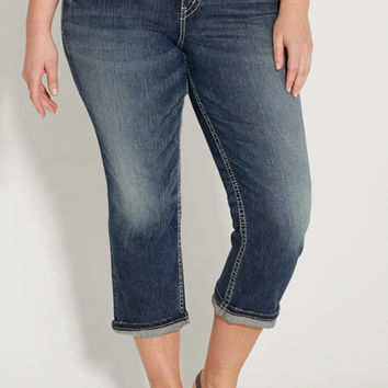Silver Jeans Co. ® plus size suki high rise capri | maurices