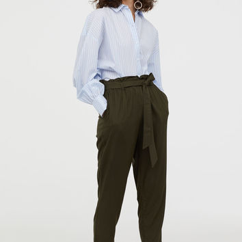 H&M Paper-bag Pants $17.99