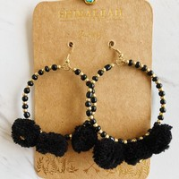 Zuma Earrings - Black