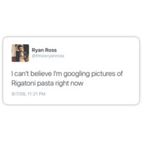 Ryan Ross Tweet Print by brandijoshop