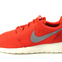 Nike Men's Roshe-Run Sport Red/Cool Grey Running Shoes 511881 601
