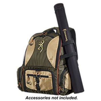 New browning fishing backpack tackle bag from bass pro shops for Fishing tackle backpack