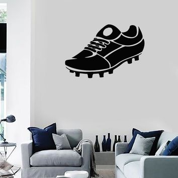 Wall Stickers Vinyl Decal Sports Shoes Cleats Soccer Equipment (ig1002)