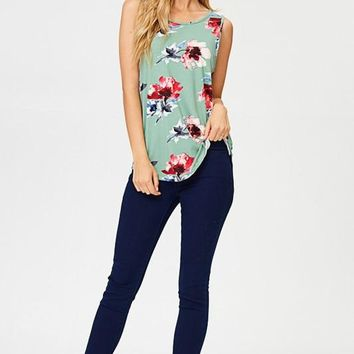 Charmed Floral Top