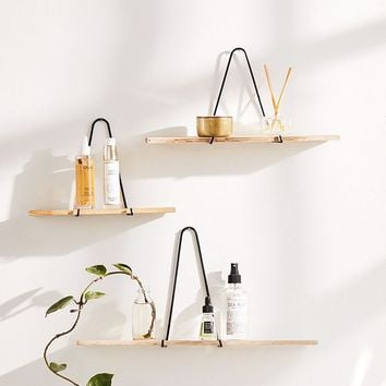 Carter Triangle Bracket Wall Shelf | Urban Outfitters