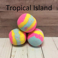 Tropical Island - Bath Bomb