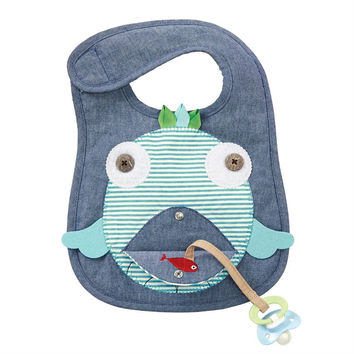 Sale Mud Pie Fish Bib