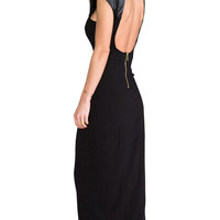 Naven Galactic Gown in Black