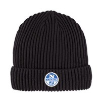 North Sails AW17 Logo Beanie in Black